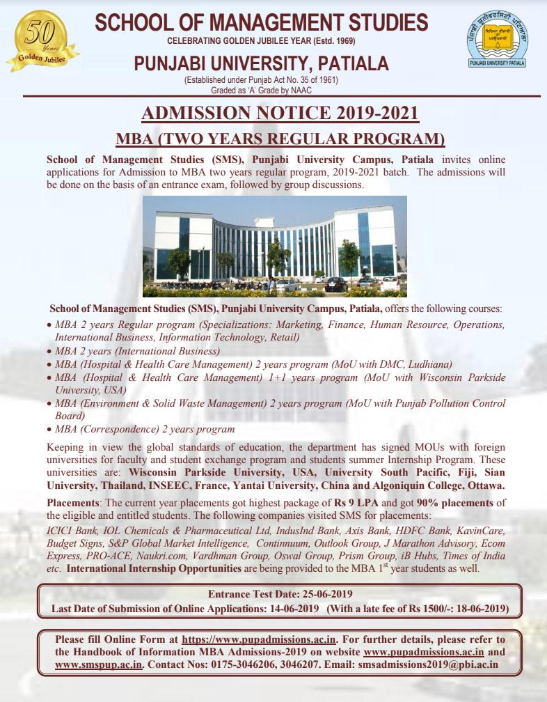 phd coursework syllabus punjabi university patiala